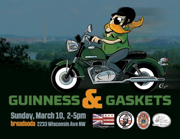 Guiness & Gaskets 2013