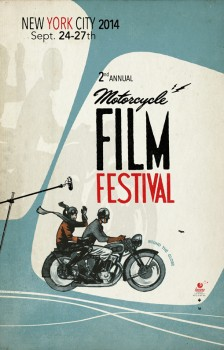 2nd Annual Motorcycle Film Festival @ The Gutter | New York | United States